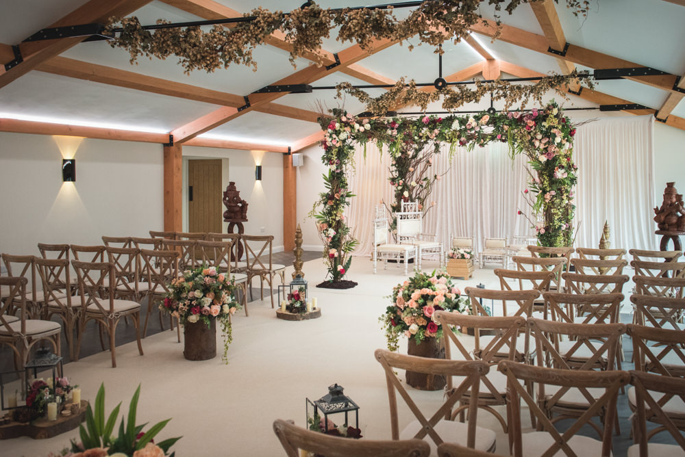 Asian Wedding Styled Shoot at Hanbury Wedding Barn